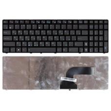 Клавиатура для ноутбука Asus A53, A73, G51, G53, G60, G72, G73, K52, K53, K72, K73, N61, N71, U50, UL50, X52, X53, X64, X72, X73, X77 Черная с рамкой