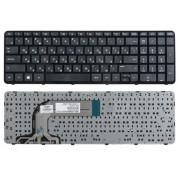 Клавиатура для ноутбука HP Pavilion 17, 17-e Чёрная, с рамкой