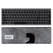 Клавиатура Lenovo IdeaPad P500, Z500, Z500A, Z500G, Z500T, 25209281, 25206409, 25206439, 25206499, 25206529 Черная, серая рамка